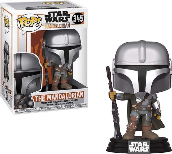Funko POP! Star Wars The Mandalorian Vinyl Figure #345 [New Armor]
