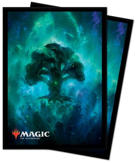 Ultra Pro MtG Celestial Lands Celestial Forest Standard Card Sleeves [100 Count]
