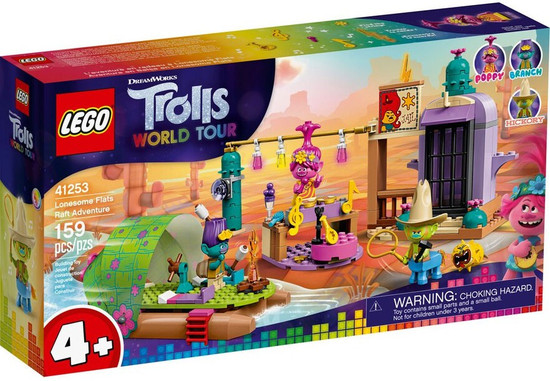 LEGO Trolls World Tour Lonesome Flats Raft Adventure Set #41253