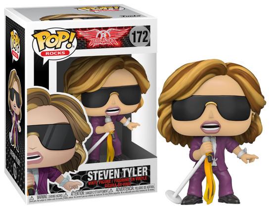 Funko Aerosmith POP! Rocks Steven Tyler Vinyl Figure #172