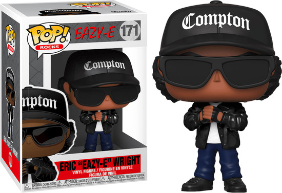 "Funko POP! Rocks Eric ""Eazy-E"" Wright Vinyl Figure #171"