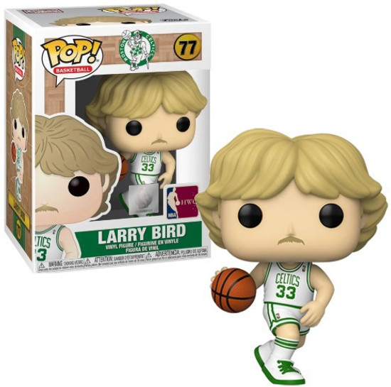 Funko Boston Celtics POP! NBA Legends Larry Bird Vinyl Figure #77 [White Uniform]