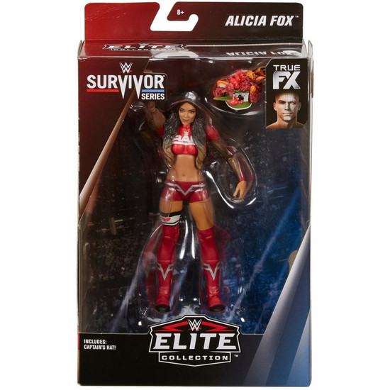 WWE Wrestling Elite Collection Survivor Series Alicia Fox Action Figure