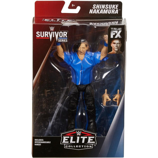 WWE Wrestling Elite Collection Survivor Series Shinsuke Nakamura Action Figure
