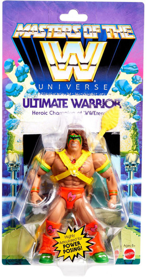 WWE Wrestling Masters of the WWE Universe Ultimate Warrior Exclusive Action Figure