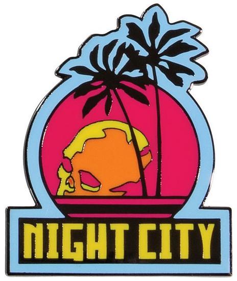 Cyberpunk 2077 Night City 2-Inch Magnet