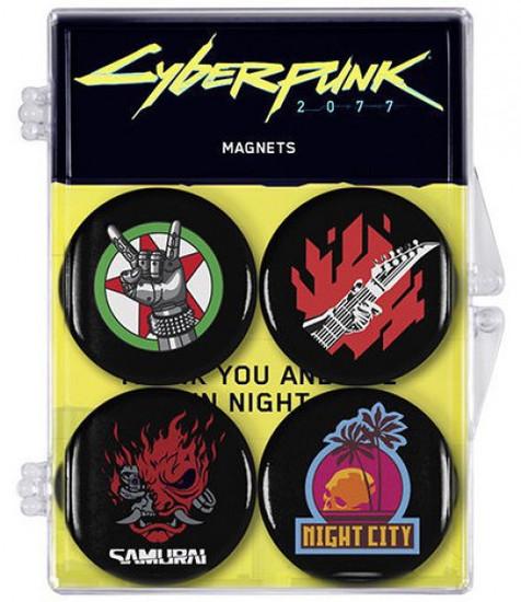 Cyberpunk 2077 Magnet 4-Pack [Version 1]