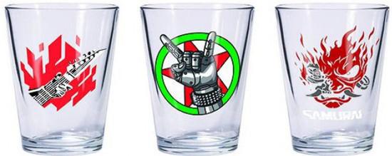 Cyberpunk 2077 Shot Glass Set [3 Pieces]