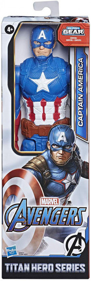 Marvel Avengers Titan Hero Series Captain America Action Figure [2020]