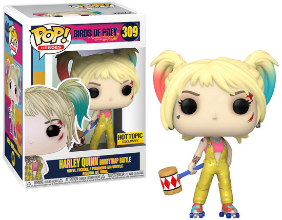 Funko DC Birds of Prey POP! Heroes Harley Quinn Boobytrap Battle Exclusive Vinyl Figure #309