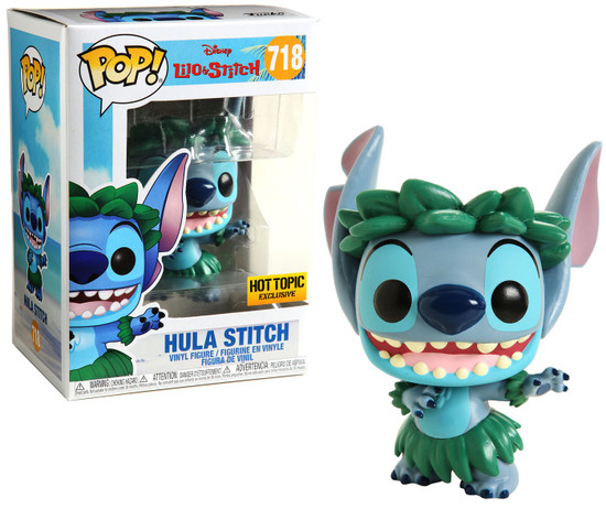 Funko Lilo & Stitch POP! Disney Hula Stitch Exclusive Vinyl Figure #718