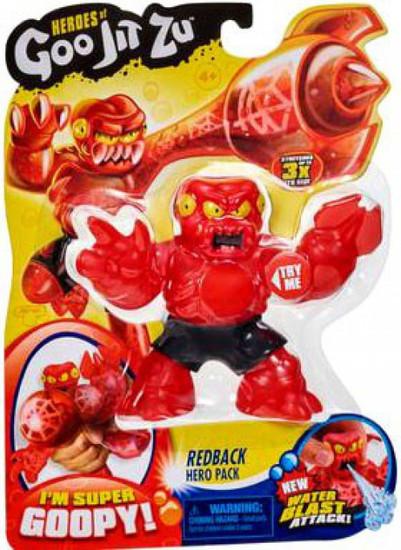 Heroes of Goo Jit Zu Redback Action Figure [Spider, Water Blast]