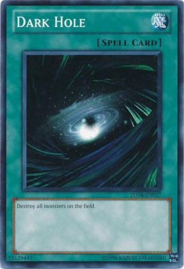 YuGiOh Turbo Pack: Booster Four Common Dark Hole TU04-EN017