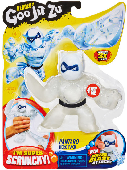 Heroes of Goo Jit Zu Pantaro Action Figure [Panther, Version 2, Water Blast]