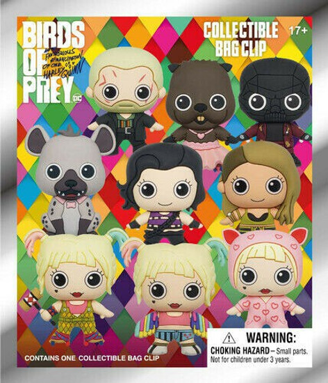 DC 3D Figural Keyring Birds of Prey Series 1 Mystery Pack [1 Figure]