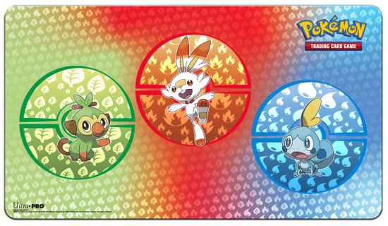 Ultra Pro Pokemon Trading Card Game Sword & Shield Galar Starters Play Mat