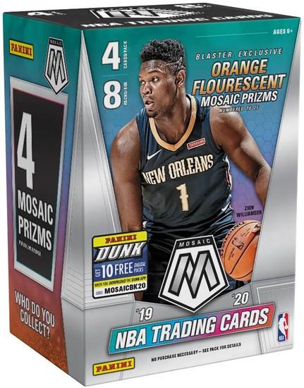 NBA Panini 2019-20 Prizm Mosaic Basketball Trading Card BLASTER Box [8 Packs]