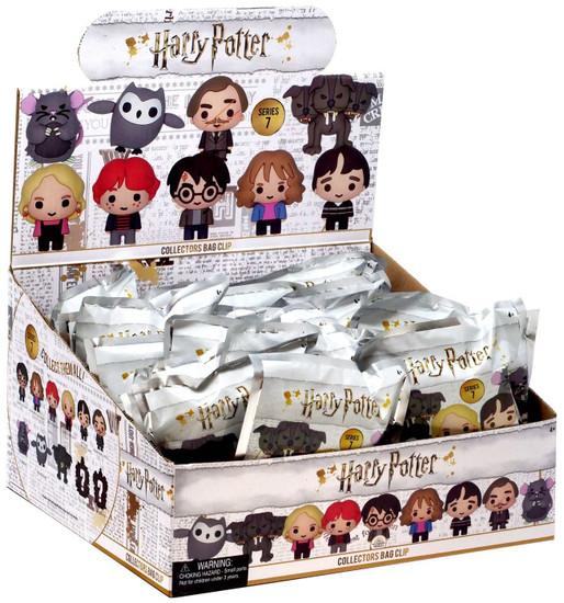3D Figural Foam Bag Clip Harry Potter Series 7 Mystery Box [24 Packs]