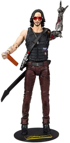 McFarlane Toys Cyberpunk 2077 Johnny Silverhand Action Figure
