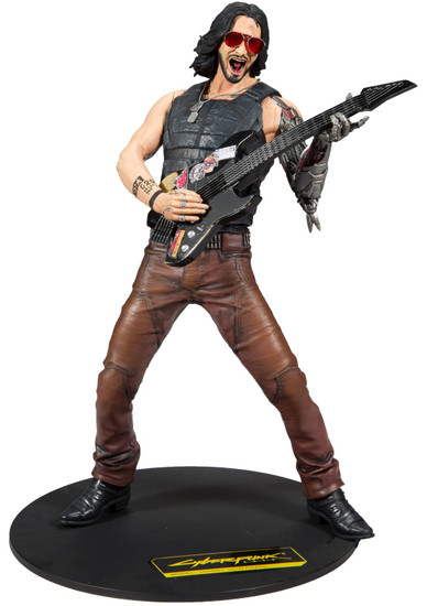 McFarlane Toys Cyberpunk 2077 Johnny Silverhand 12-Inch Deluxe Box Set
