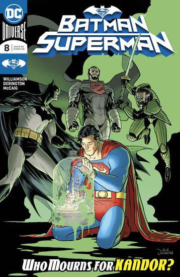 DC Batman Superman #8 Comic Book