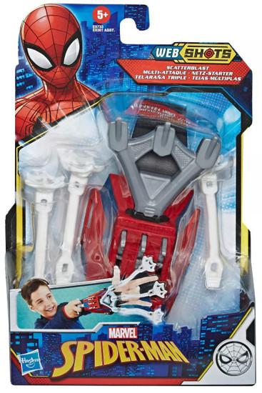Marvel Spider-Man Web Shots Scatterblast Blaster Roleplay Toy [Spider-Man] (Pre-Order ships November)