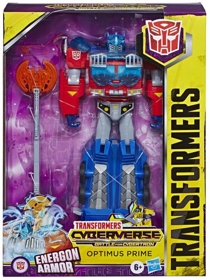 Transformers Cyberverse Optimus Prime Ultimate Action Figure [Energon Armor]