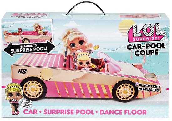 LOL Surprise Car-Pool Coupe Playset