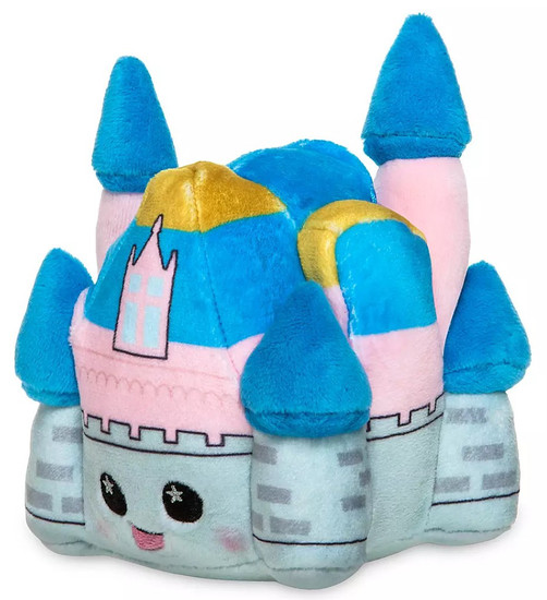 Wishables Disney Park Icons Sleeping Beauty Castle Exclusive 4-Inch Micro Plush