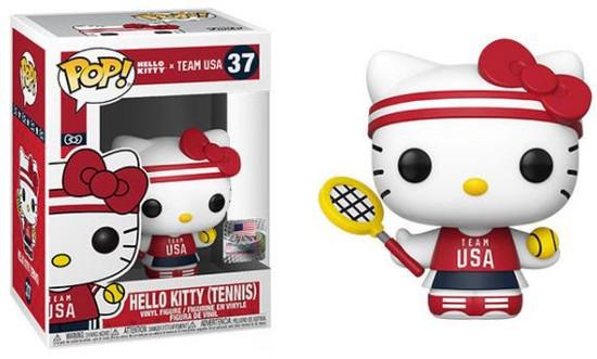 Funko Team USA POP! Sanrio Tennis Hello Kitty Vinyl Figure #37