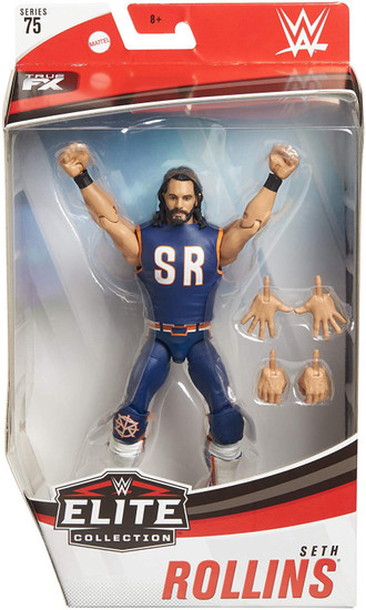 WWE Wrestling Elite Collection Series 75 Seth Rollins Action Figure