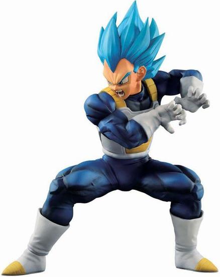 Dragon Ball Ichiban Super Saiyan Blue Vegeta 7-Inch Collectible PVC Figure [Evolved]