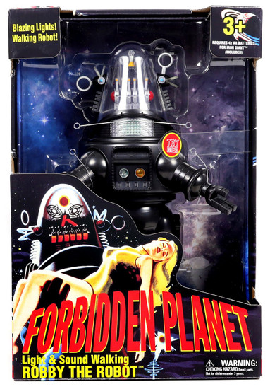 Forbidden Planet Light & Sound Walking Robby The Robot Exclusive