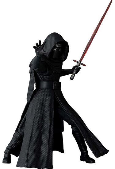 Star Wars The Force Awakens S.H. Figuarts Kylo Ren Action Figure [Damaged Package]