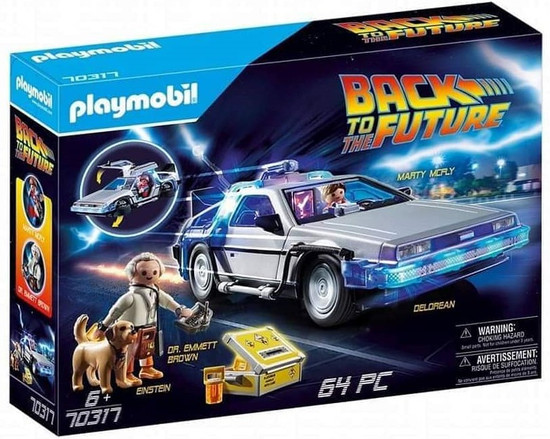 Playmobil Back to the Future DeLorean Set #70317