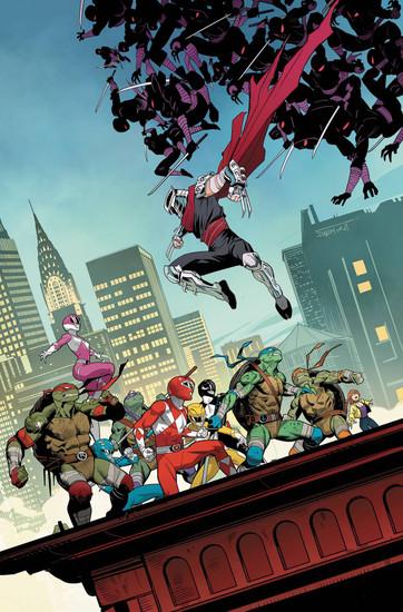 Boom Studios Power Rangers & Teenage Mutant Ninja Turtles #4 Comic Book