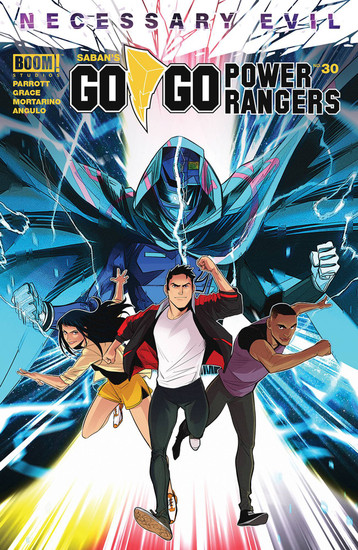 Boom Studios Go Go Power Rangers #30 Necessary Evil Comic Book