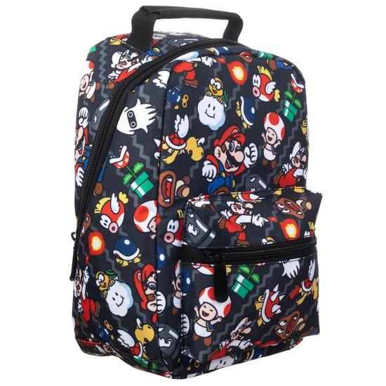 Nintendo Super Mario All-Over Print Lunch Bag (Pre-Order ships April)