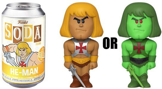 Funko Masters of the Universe Vinyl Soda He-Man Limited Edition of 10,000! Vinyl Figure [1 RANDOM Figure, Look For The Chase!]