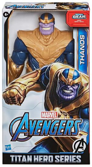 Marvel Avengers Titan Hero Series Blast Gear Thanos Action Figure