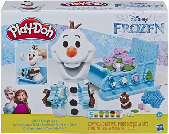 Disney Frozen Play-Doh Olaf's Sleigh Ride Playset