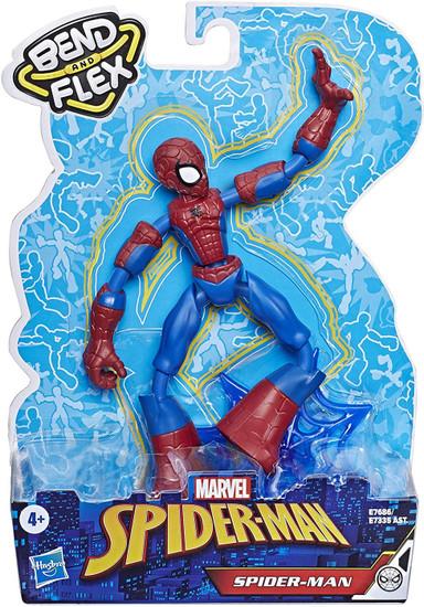 Marvel Bend & Flex Spider-Man Action Figure [2020]
