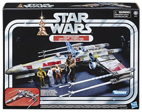 Star Wars Vintage Collection Vehicles Luke Skywalker's X-Wing Fighter Action Figure Vehicle