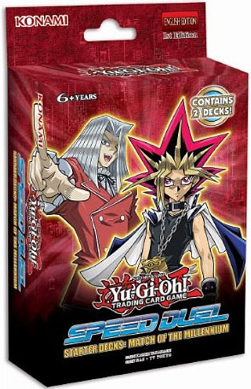 YuGiOh Trading Card Game Speed Duel Match Of The Millennium Starter Deck