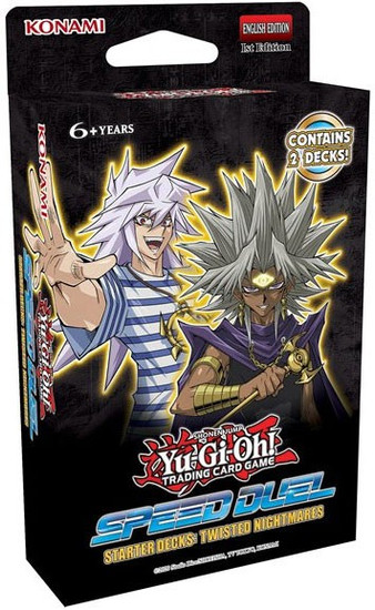 YuGiOh Trading Card Game Speed Duel Twisted Nightmares Starter Deck