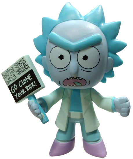 Funko Rick & Morty Series 3 Hologram Rick Clone 1/12 Mystery Minifigure [Loose]