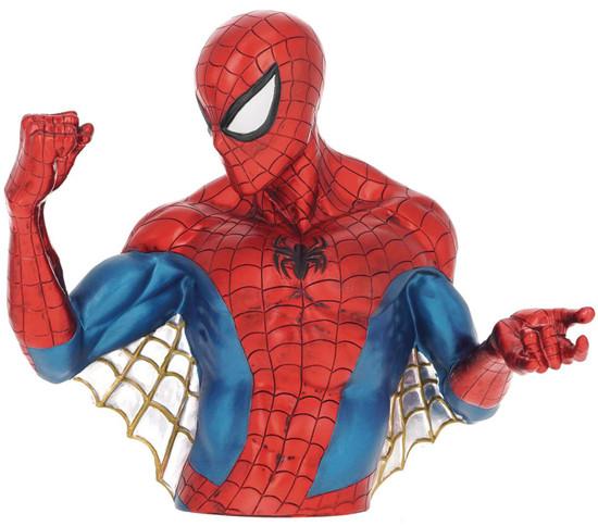 Marvel Spider-Man 10-Inch Vinyl Bank [Metallic Version]