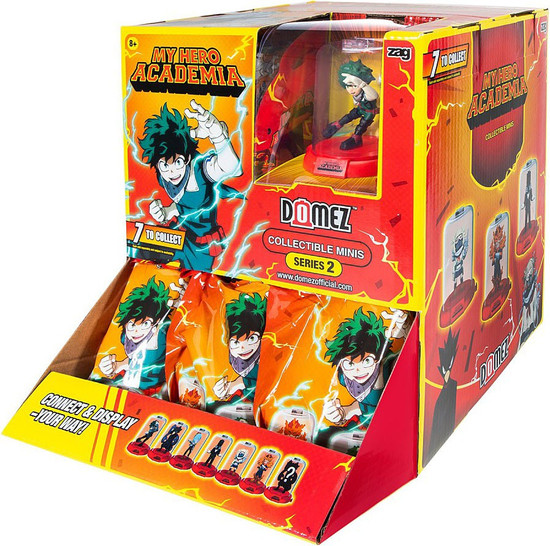 Domez Series 2 My Hero Academia Mystery Box [18 Packs]