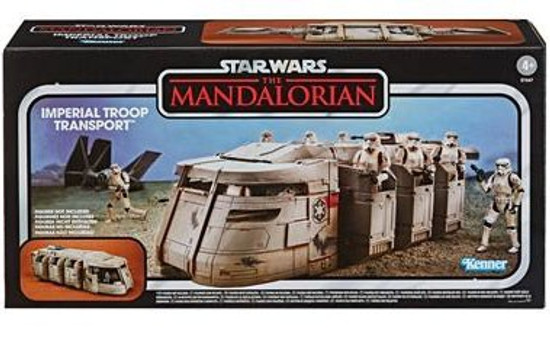 Star Wars The Mandalorian Vintage Collection Imperial Troop Transport Action Figure Vehicle