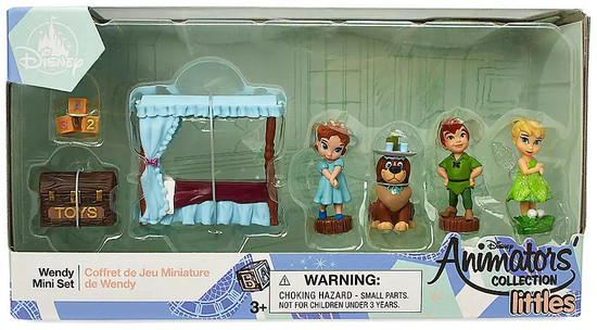 Disney Peter Pan Littles Animators' Collection Wendy Exclusive Mini Set
